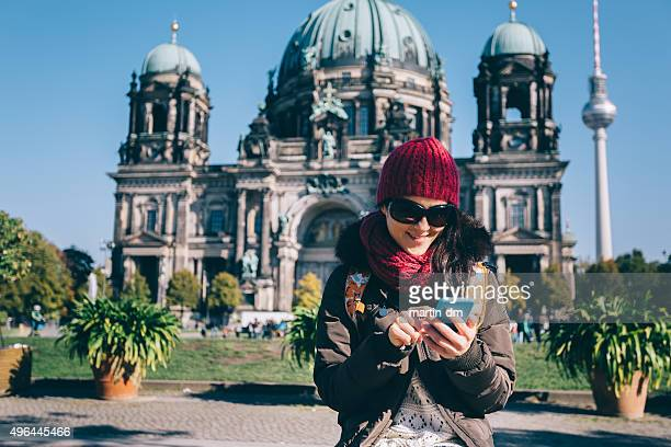 Tourist in Berlin SMS