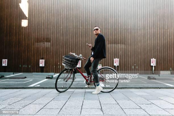 tourist in japan - selbstportrait stock-fotos und bilder