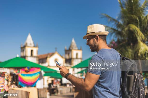 tourist in olinda, pernambuco - recife stock pictures, royalty-free photos & images