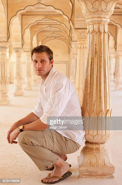 tourist in palace of amber - hugh sitton stock pictures, royalty-free photos & images