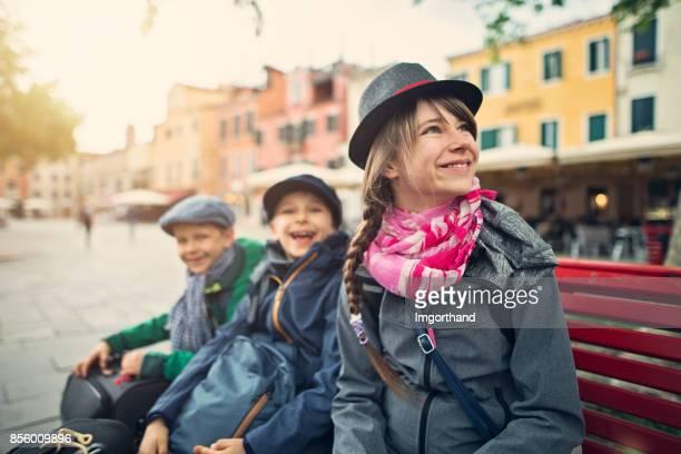 Tourisme les enfants tourisme Venise, Italie