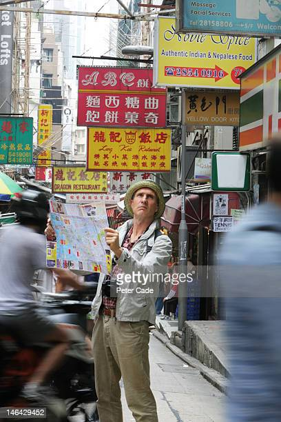 tourist lost in Hong Kong