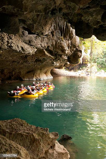 Tourist on Cave and River Tube Tour, Belize