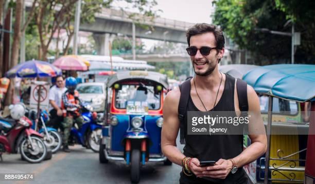 turismo na rua - sem mangas - fotografias e filmes do acervo