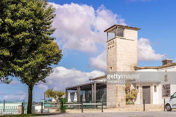 Turista restaurante de Barcelos, Portugal