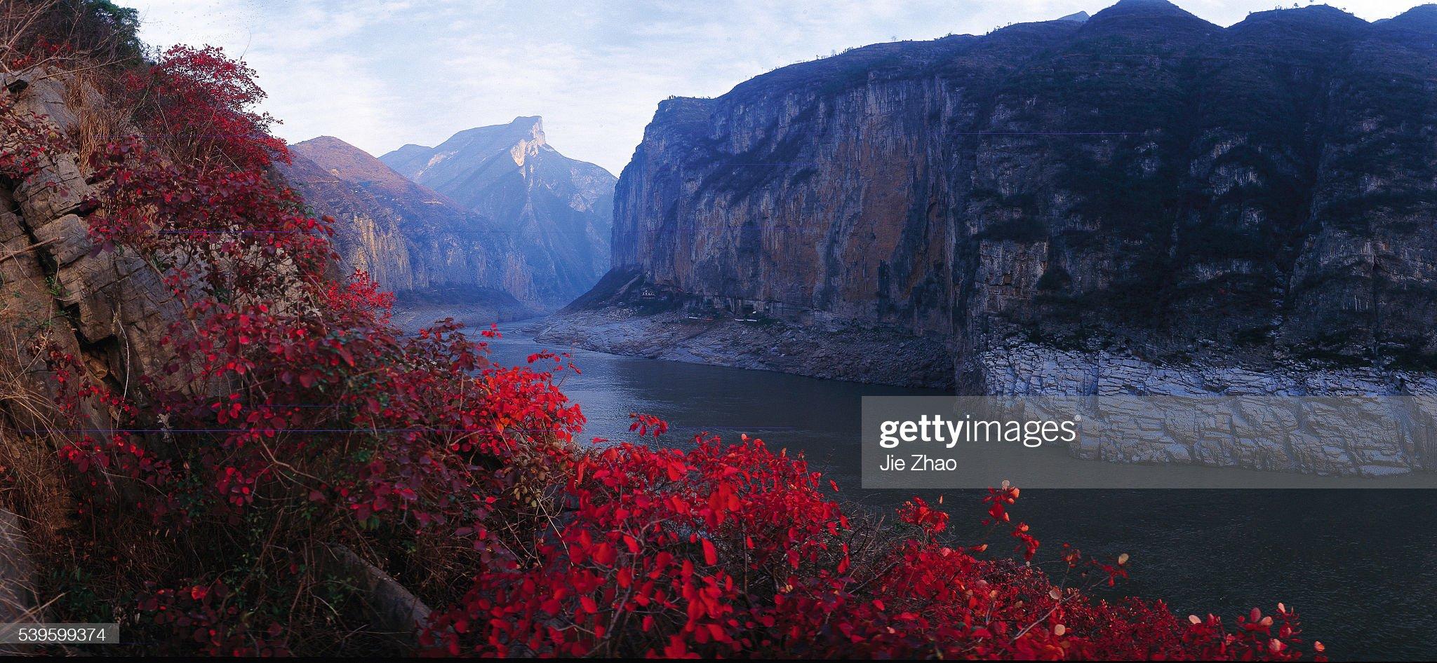 Wu Gorge on the Yangtze River : News Photo