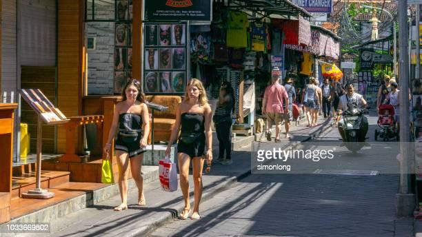 Tourist shopping street