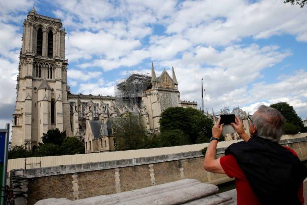 FRA: Mass At Notre Dame De Paris
