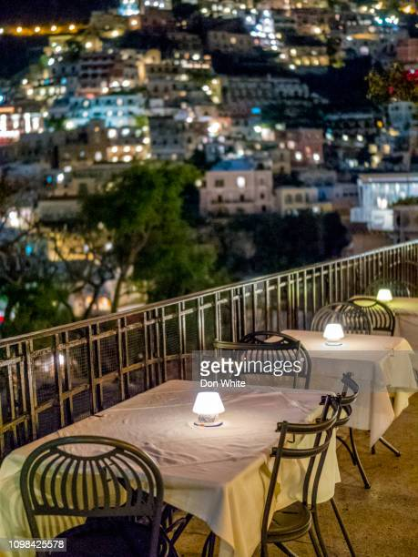 tourist town of positano in italy - campania stock pictures, royalty-free photos & images