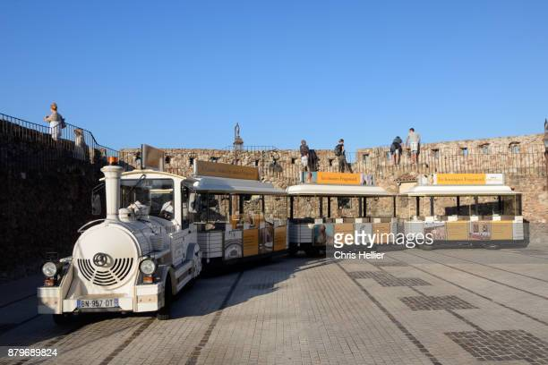 Tourist Trackless Train, Land Train or Road Train Le Suquet Old Town Cannes