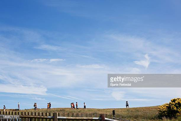 tourist trail - bjarte rettedal stock pictures, royalty-free photos & images