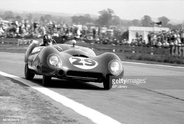 Tourist Trophy Goodwood 5th September 1959 Graham Hill/Alan Stacey Lotus 15 Climax retired