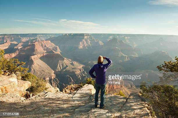 Tourist Visiting Grand Canyon