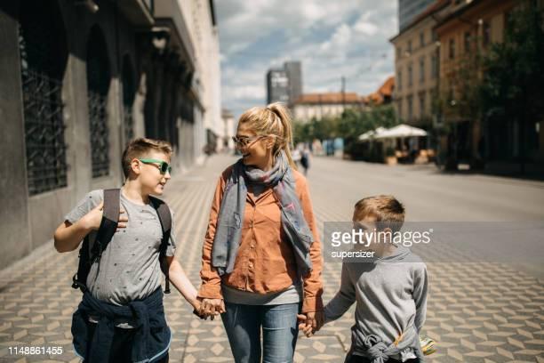 Tourist visiting Slovenia