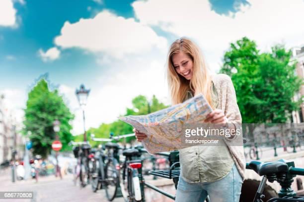 toeristische kaart in amsterdam