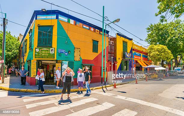 Tourists and Criminals in La Boca, Buenos Aires, Argentina