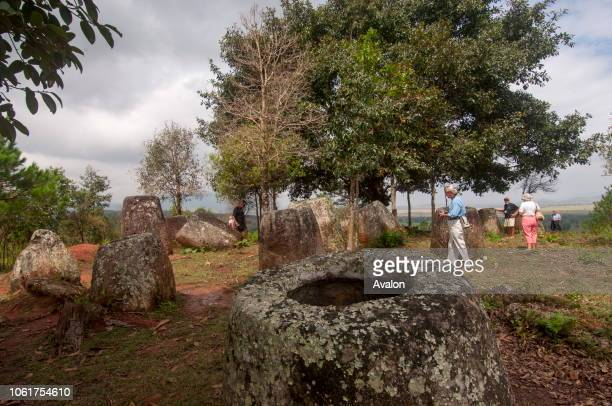 Tourists are visiting the Plain of Jars which consists of thousands of stone jars scattered around the upland valleys and the lower foothills of the...