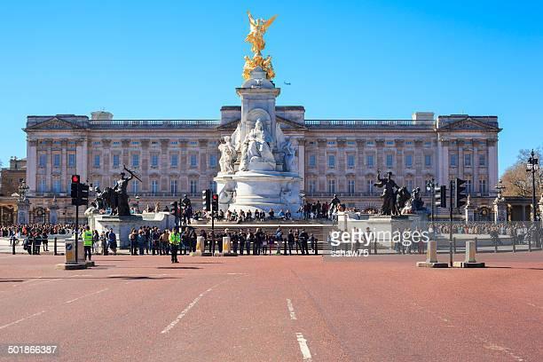 Turistas en el Palacio de Buckingham