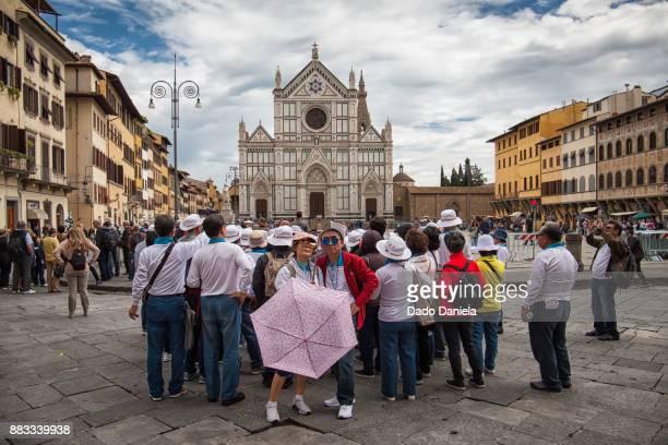 Tourists at Florence