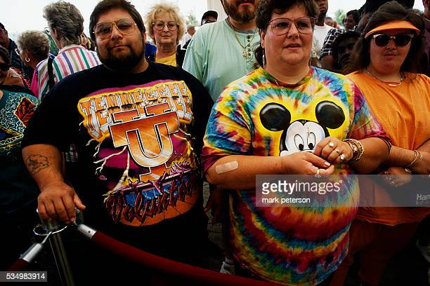 Tourists at Grand Opening of Sam's Town Tunica Casino