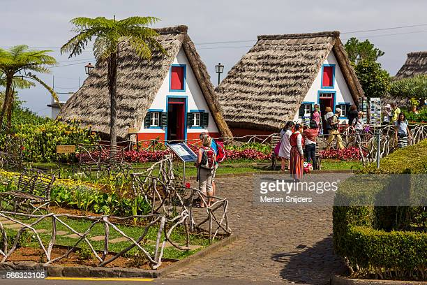 tourists at public traditional santana park - merten snijders stock pictures, royalty-free photos & images