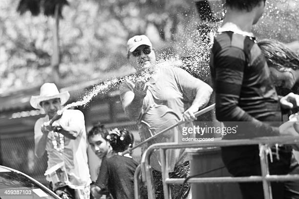 tourists at songkran festival chiang mai thailand april 2012 - united_states_house_of_representatives_elections_in_florida,_2012 stock pictures, royalty-free photos & images