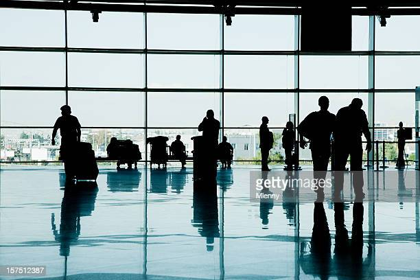 Tourists at the Airport