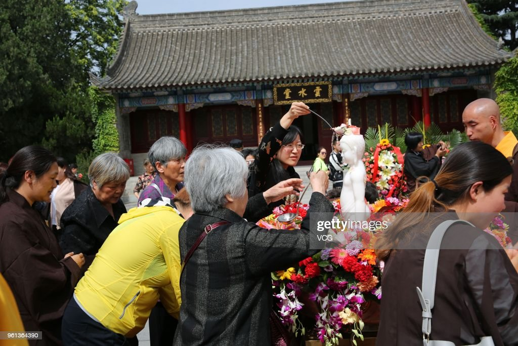 Buddha's Birthday Celebrated In China