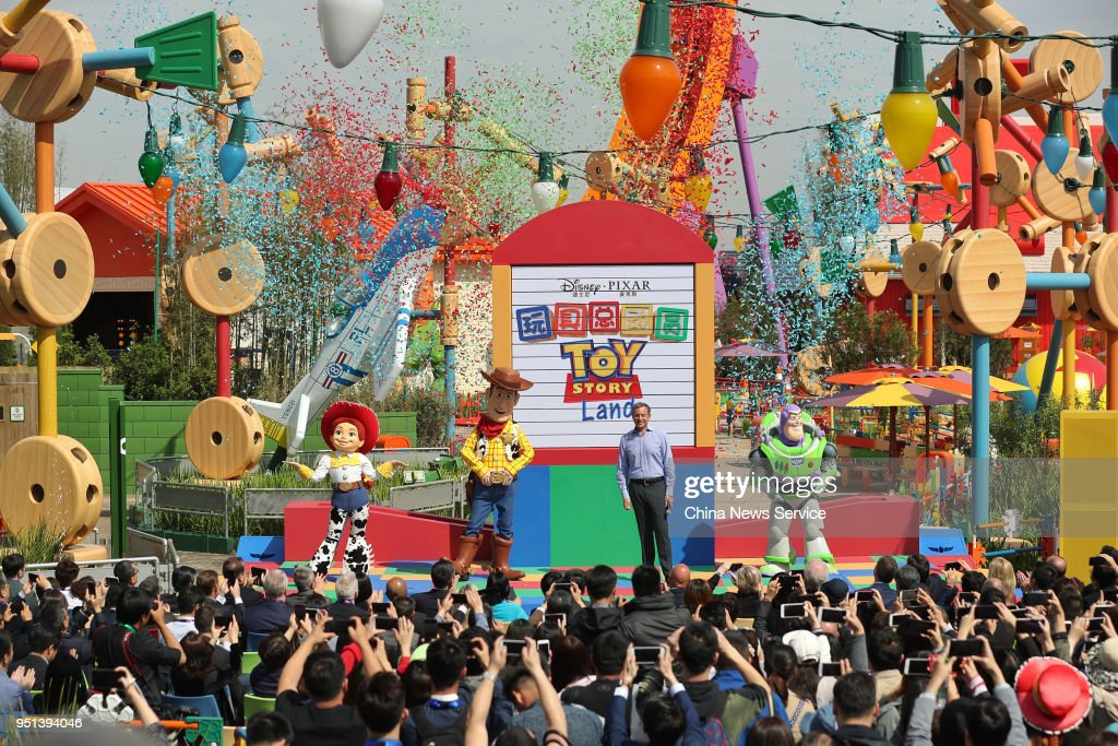 Disney Pixar Toy Story Land Opens In Shanghai
