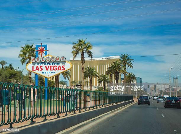 Touristen in Las Vegas