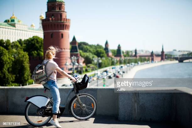 Tourists in Moscow Kremlin