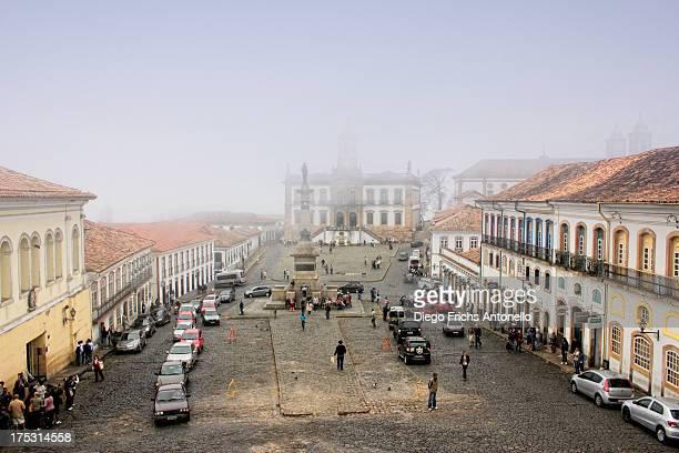 CONTENT] Tourists in Ouro Prêto Minas Gerais Brazil
