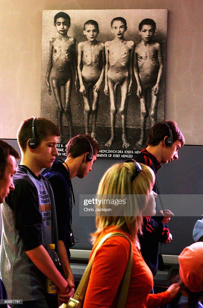 Auschwitz-Birkenau Concentration Camp : News Photo