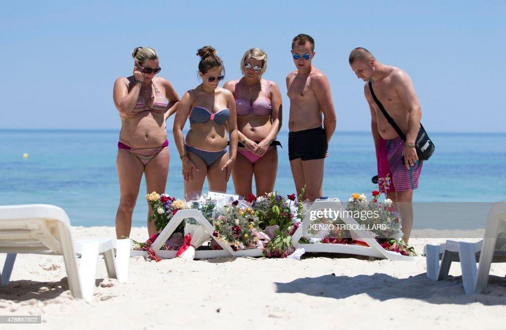 TUNISIA-UNREST-TOURISM : News Photo