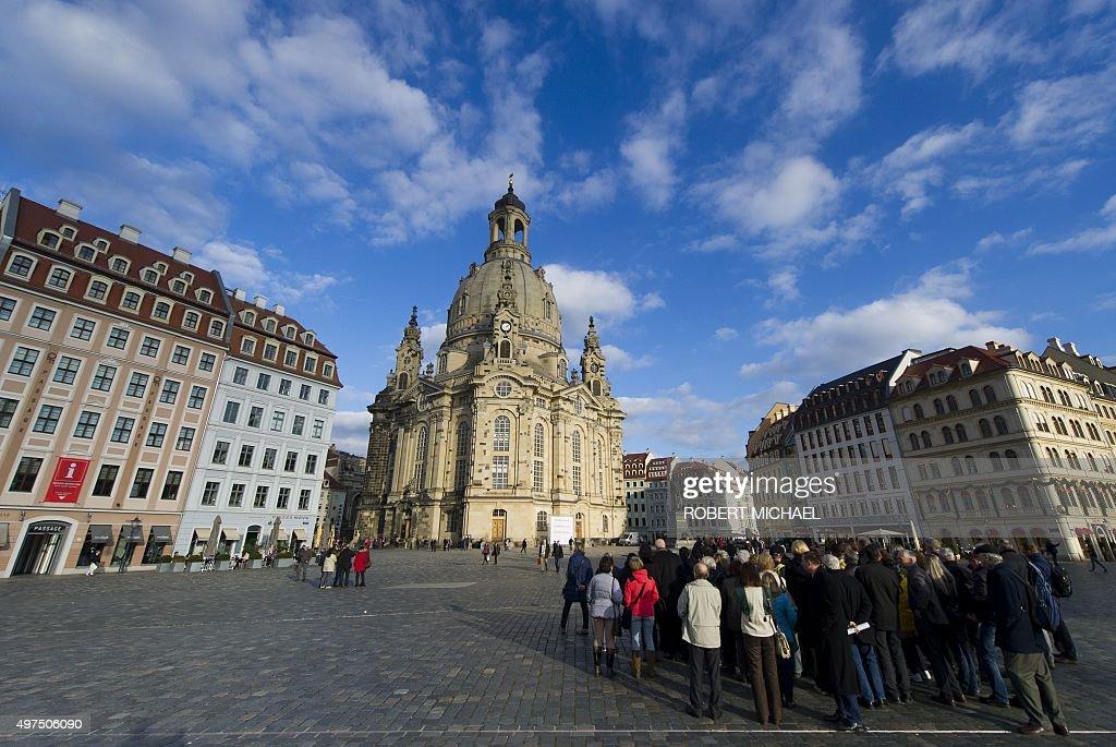GERMANY-DRESDEN-TOURISM : News Photo