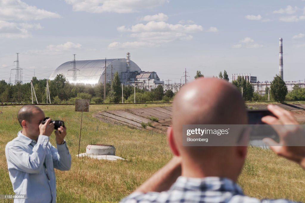 Chernobyl Emerges From Oblivion for the Streaming Generation : News Photo