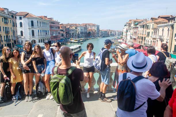 ITA: International Tourism Returns To Venice After Covid-19 Lockdown