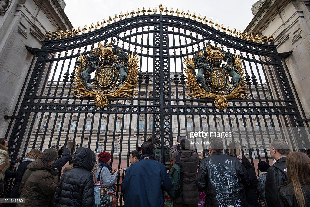 Buckingham Palace Set For £369 Million Refurbishment : News Photo