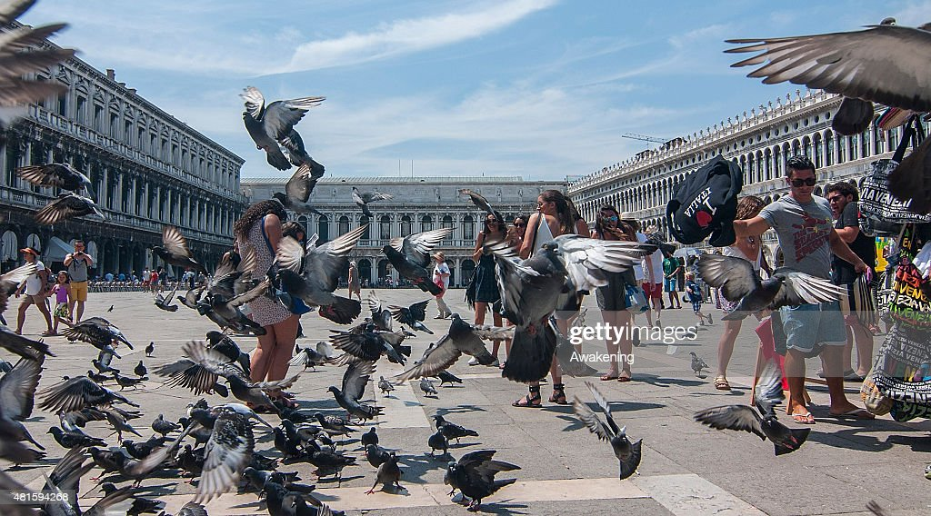 World Heritage City of Venice May Restrict Tourists Access : News Photo