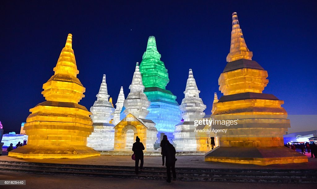 Ice and Snow Festival In Harbin : Foto di attualità