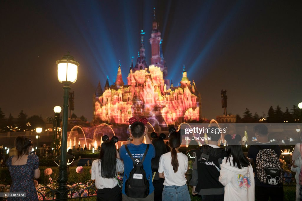 Disney Shanghai Reopens To Limited Visitors As China Recovers From Coronavirus Pandemic : News Photo