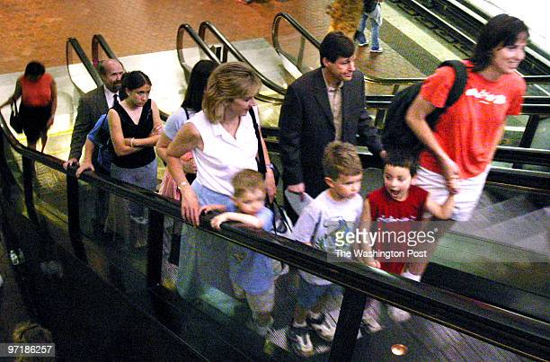METROB Tourists visiting Washington tend to cause backups on Metro escalators because they don't stand to one side while riding them We go in search...