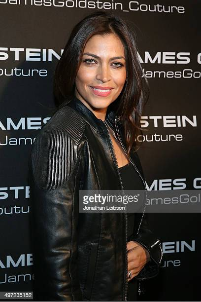 Touriya Haoud attends Ugo Mozie Celebrate's His Birthday With James Goldstein Couture on November 14 2015 in Beverly Hills California