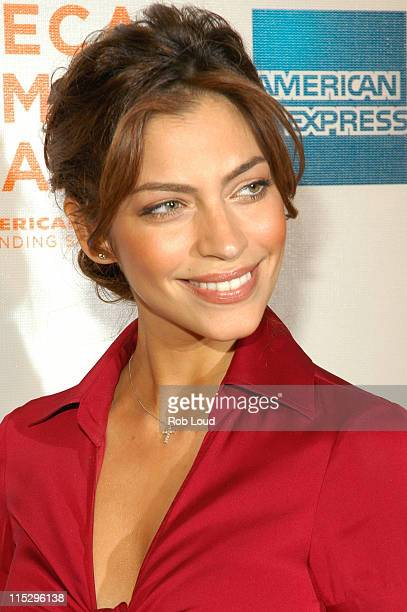 Touriya Haoud during 5th Annual Tribeca Film Festival Five Fingers Premiere Inside Arrivals at Tribeca Performing Arts Center in New York City New...