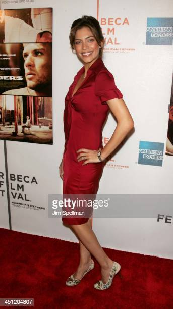 Touriya Haoud during 5th Annual Tribeca Film Festival Five Fingers Premiere Outside Arrivals at TPAC in New York City New York United States