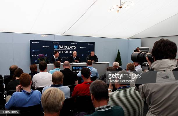 Tournament Director Mike Stewart and Championship Director Peter Adams announce that the Scottish Open will be reduced to 54 holes following severe...