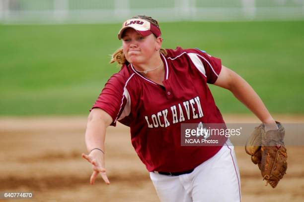 Tournament MVP, Pitcher Kristin Erb of Lock Haven University allowed only one hit and no walks over six innings, with nine strikeouts during the...
