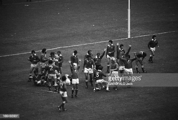 Tournament Of Five Nations 1979 Paris 18 février 1979 lors du Tournoi des 5 Nations le match France Pays de Galles au Parc des Princes remporté par...