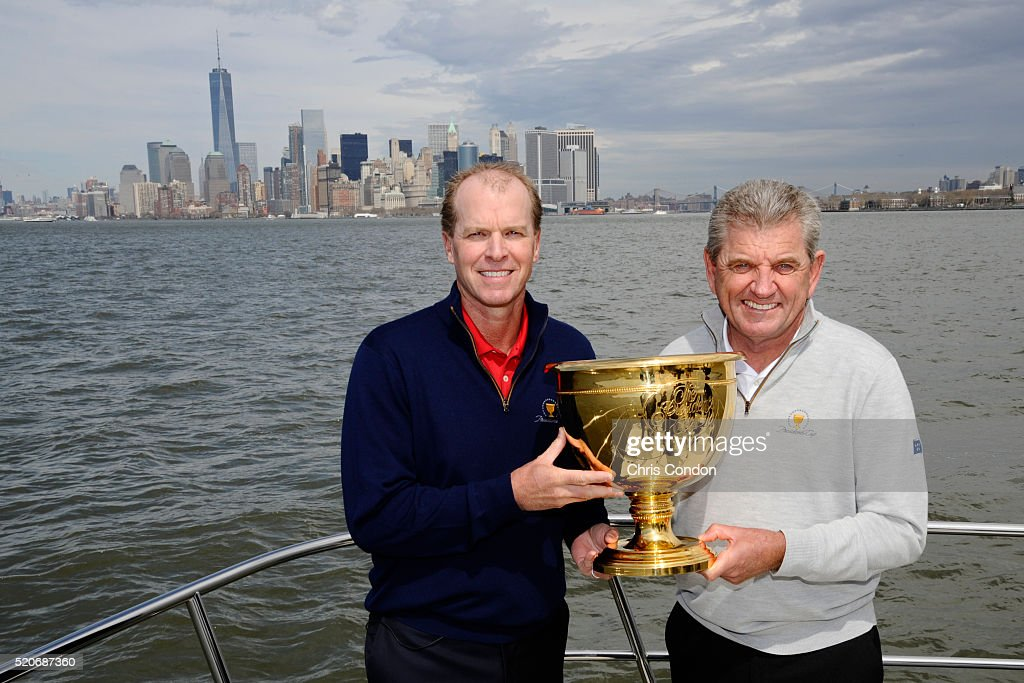 Price, Stricker named captains for the Presidents Cup 2017 : News Photo