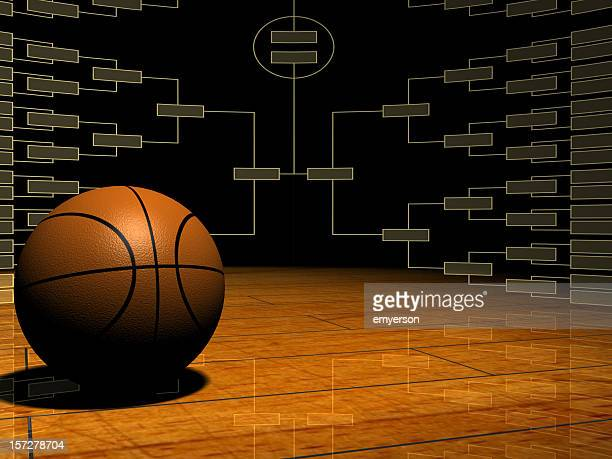 tournament time - march madness basketball stock photos and pictures